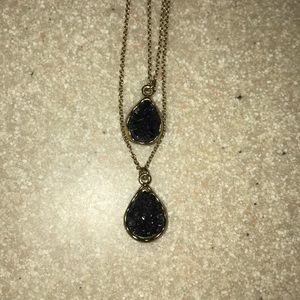 Double string necklace